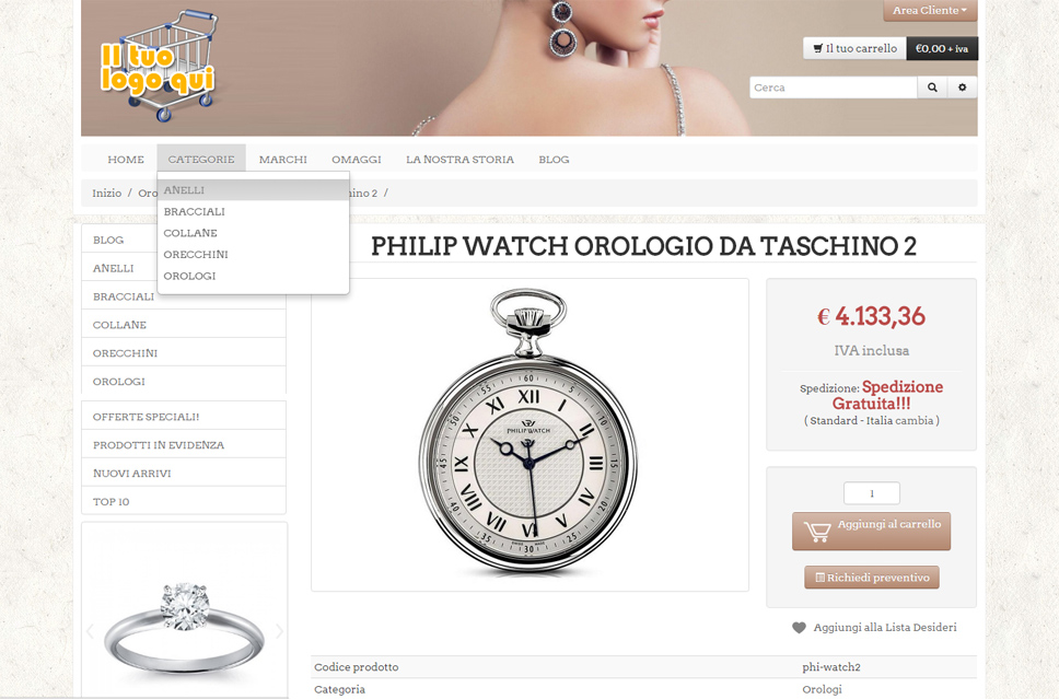 [E-Commerce Croce e Delizia]